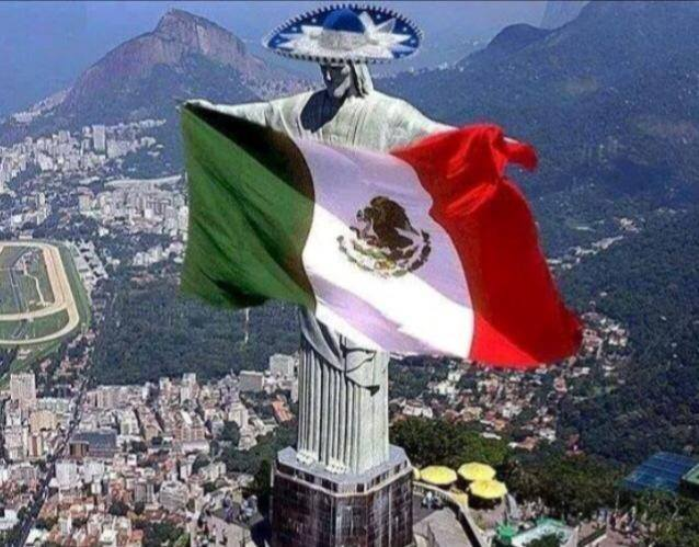 Christ Mexican Flag The Yucatan Times