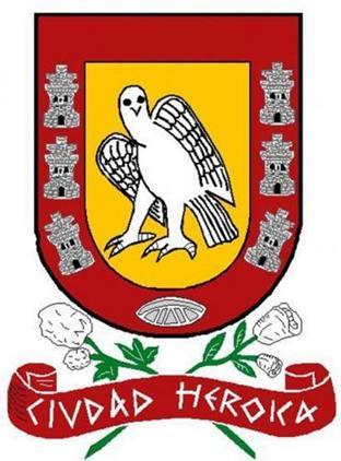 Coat of arms, City of Valladolid, Yucatán (Designed by Juan Francisco Peón Ancona, 1973)