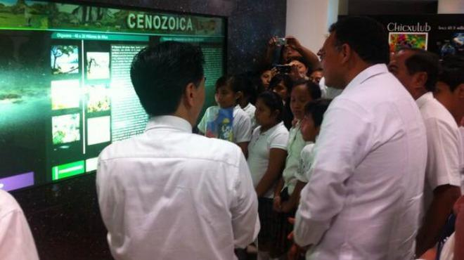 Inauguration of the Museo del Cráter de Chicxulub
