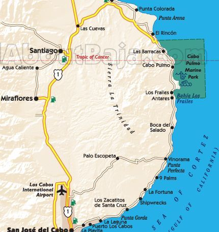 East Cape of Baja Sur, detail of Punta Arena & Cabo Pulmo Marine Park/UNESCO World Heritage Site