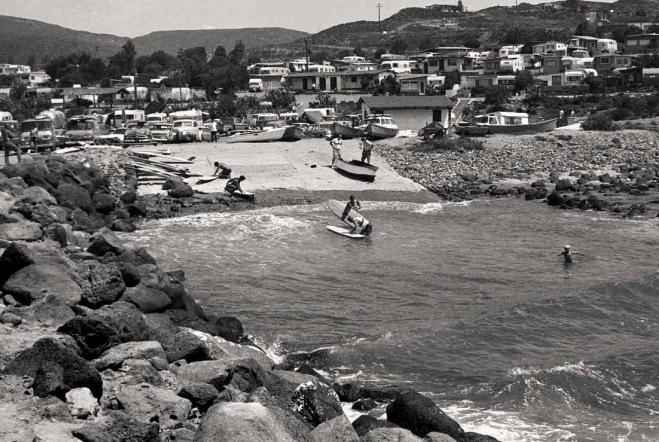 Bahía de Todos Santos early 1960's