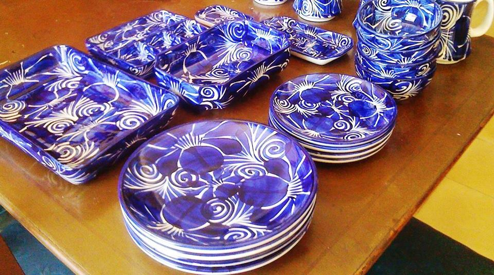 Artisan china for sale at 2013 Feria Tunich (photo credit Stewart Mandy)