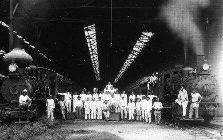 Merida Train Station in 1921