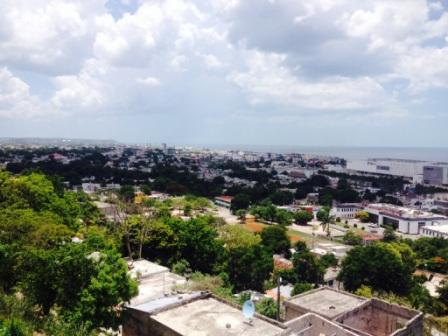 View of Campeche from statue of Benito Juarez