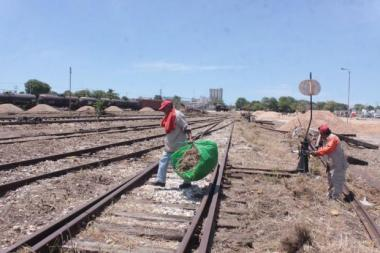 Railroad grounds in Merida