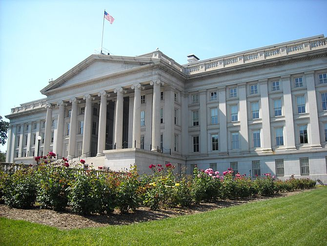 Treasury Department_(Photo: Wikipedia)