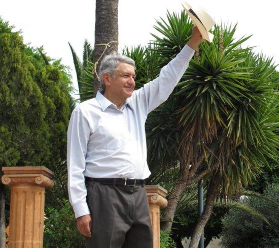 "Andres Manuel Lopez Obrador ""AMLO"". Photo: Google)"