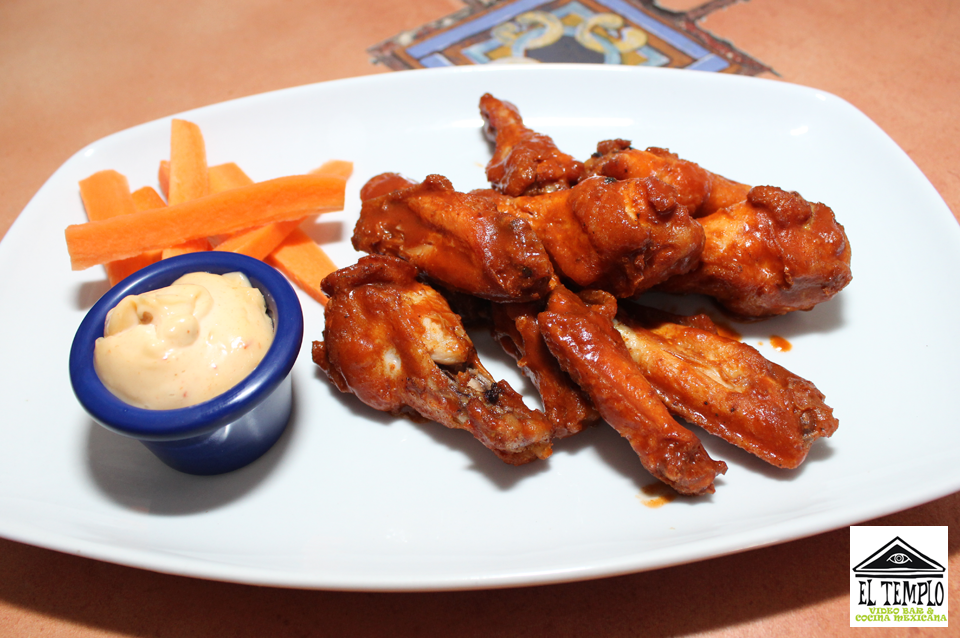 Chicken wings (Photo: El Templo Bar)