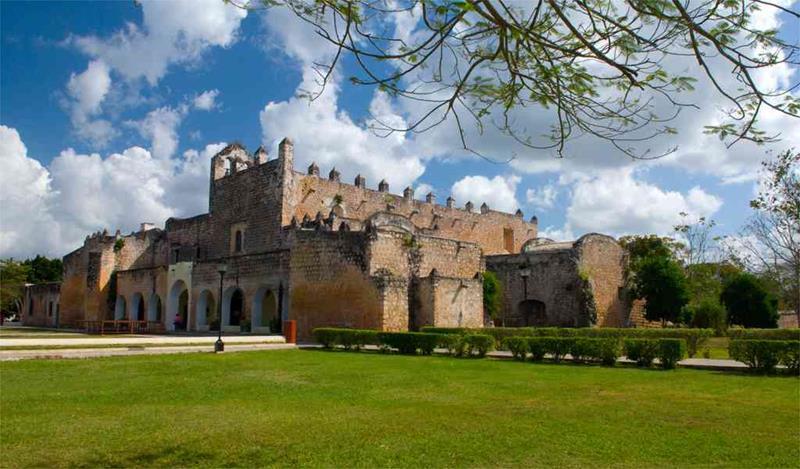 Convent of San Bernardino, Valladolid, Yuc.