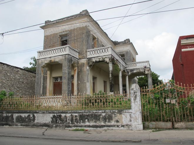 Abandoned property on Calle 60, Centro.