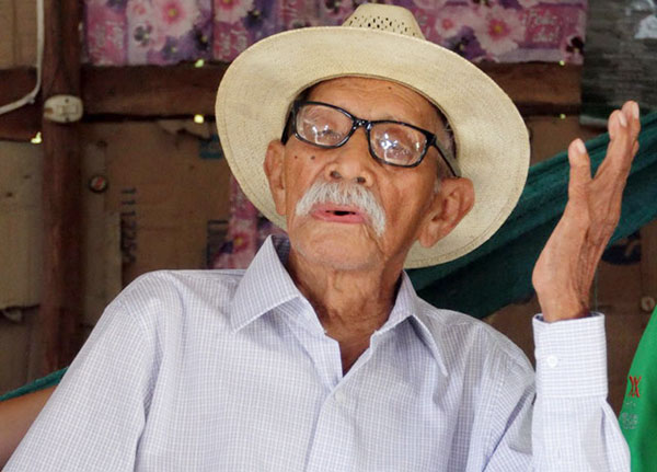 Don Chuy, 117, fought in the Mexican Revolution