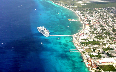 Cruises Departing From Galveston >> Residents of Cozumel complain against project to expand the cruise ship dock – The Yucatan Times