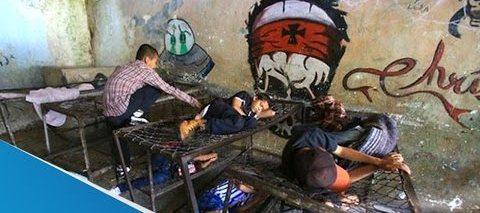 """Dorms at """"La Gran Familia"""" Shelter"""