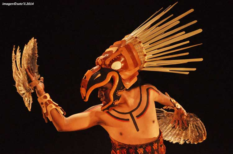 "The Guatemalan Performance Group ""Sotzil"" – From their play ""Uk'ux Ulew"" (The Heart of Earth)"
