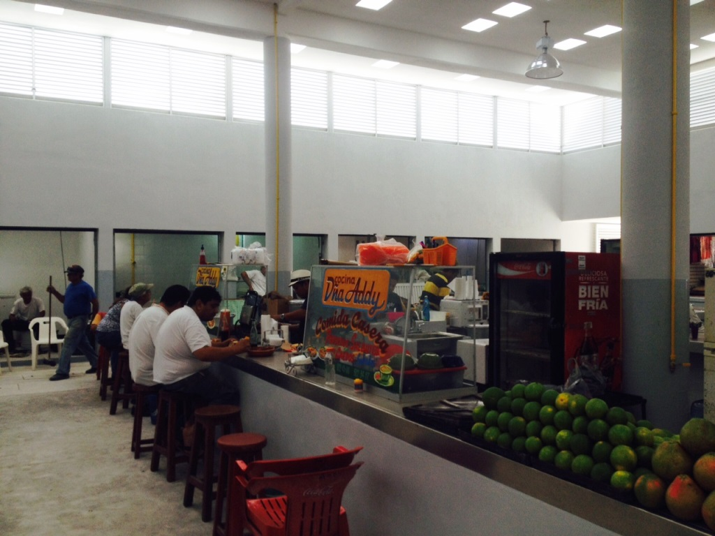 Cocina economica in the market (Credit Stewart Mandy)