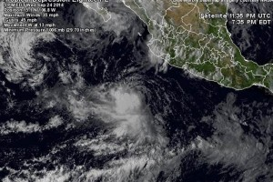 Heavy rains in the states of Guerrero, Michoacán, Colima and Jalisco are expected . (Photo: Taken from @webcamsdemexico )
