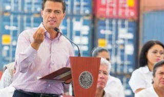 President Peña Nieto unveils port overhaul