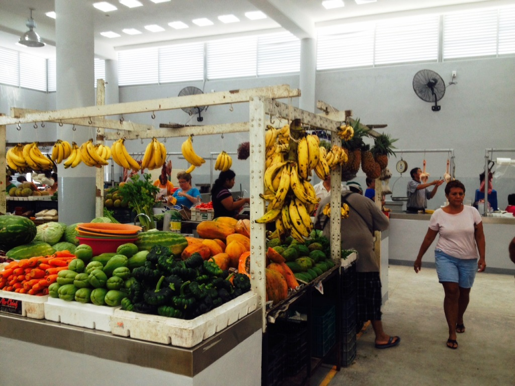 Fruit and vegetables for sale (Credit Stewart Mandy)