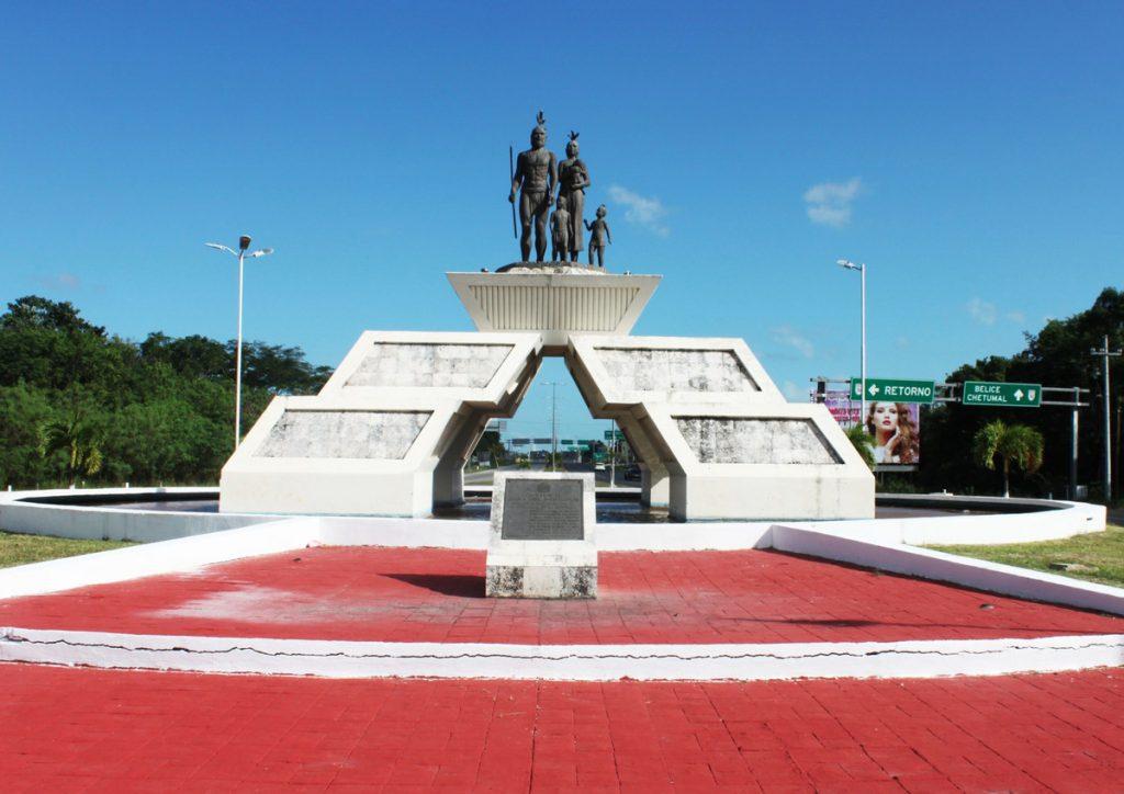 Mestizo Monument in Chetumal