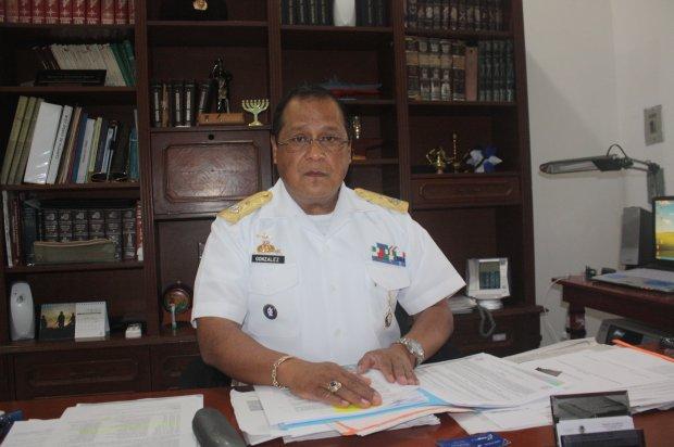Navy Admiral Roberto Gonzalez Lopez (Photo: yucatan.com.mx)