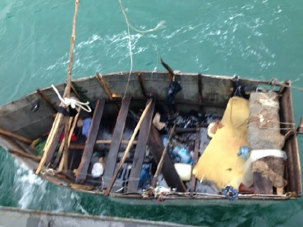 Cuban makeshift boat (Photo: yucatan.com.mx)