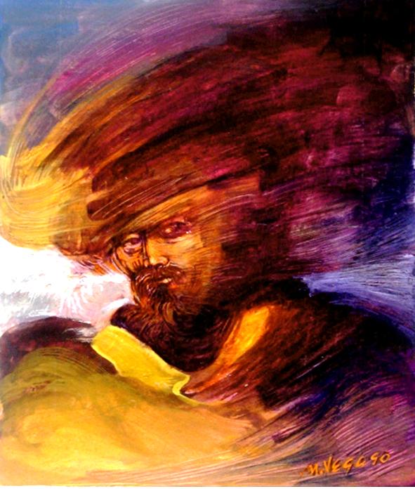Corsario (Privateer) (Painting by Mauricio García Vega)