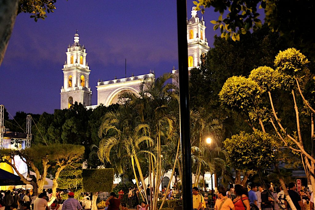 downtown Merida