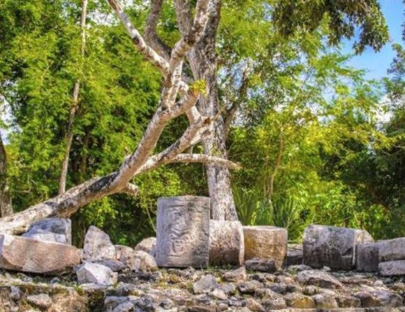 Mayan Ruins in Yucatán