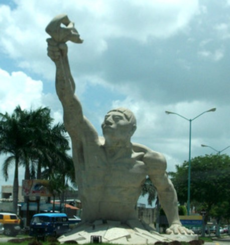Jacinto Canek Monument in Campeche
