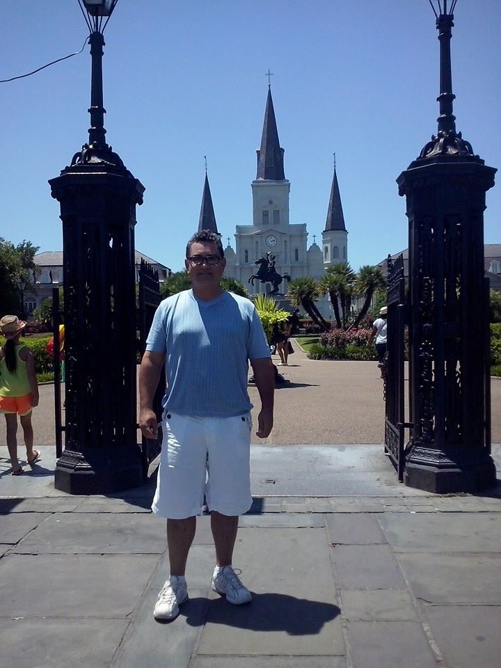 St Louis Cathedral New Orleans, Louisiana (Selfie: alfonso Galindo)
