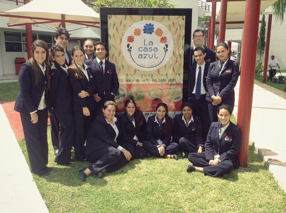 The Glion hospitality students look forward to welcoming you to La Casa Azul!
