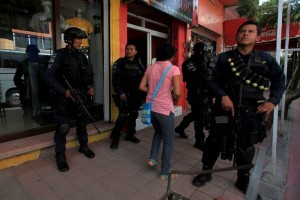 Federal forces took control of security in Iguala. (Photo JORGE SERRATOS  / EL UNIVERSAL)