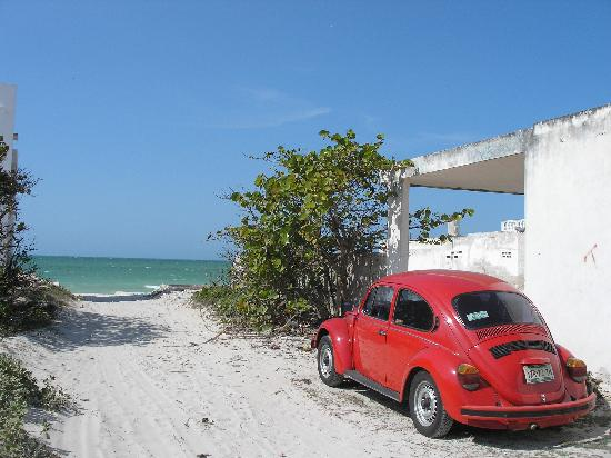 Chelem beach access