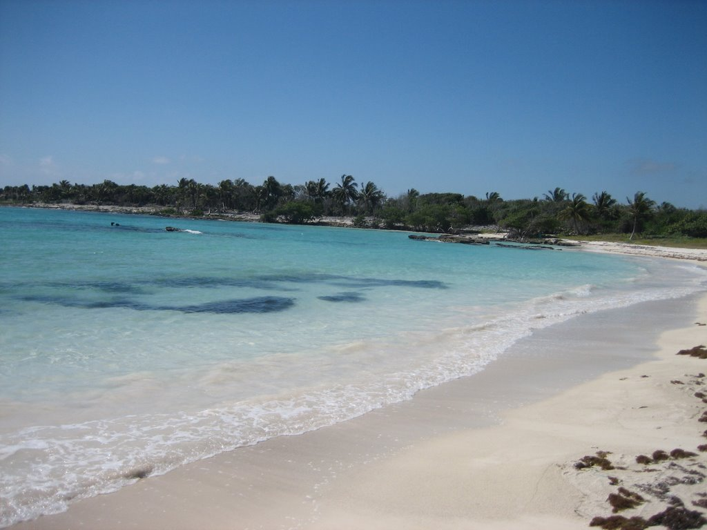 Chemuyil beach
