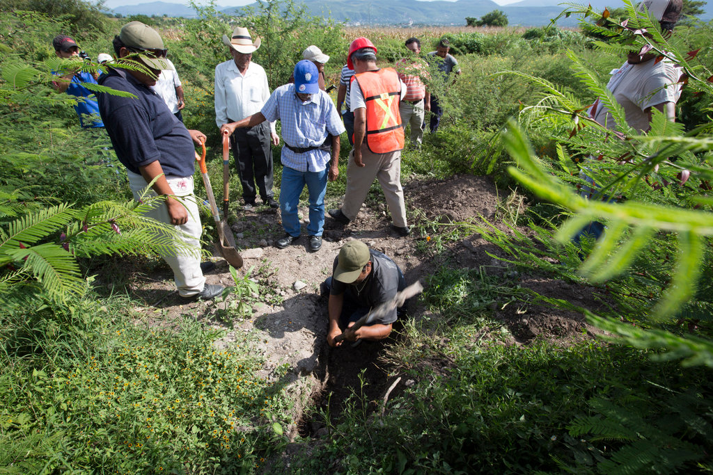 Mass Grave near Iguala Guerrero (Photo: NY Times)