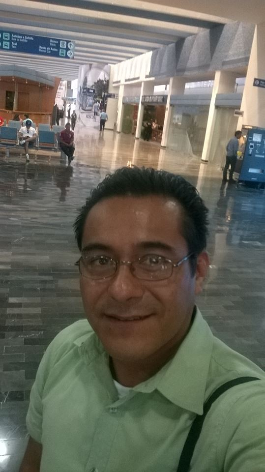 Raul arriving at Monterrey International Airport