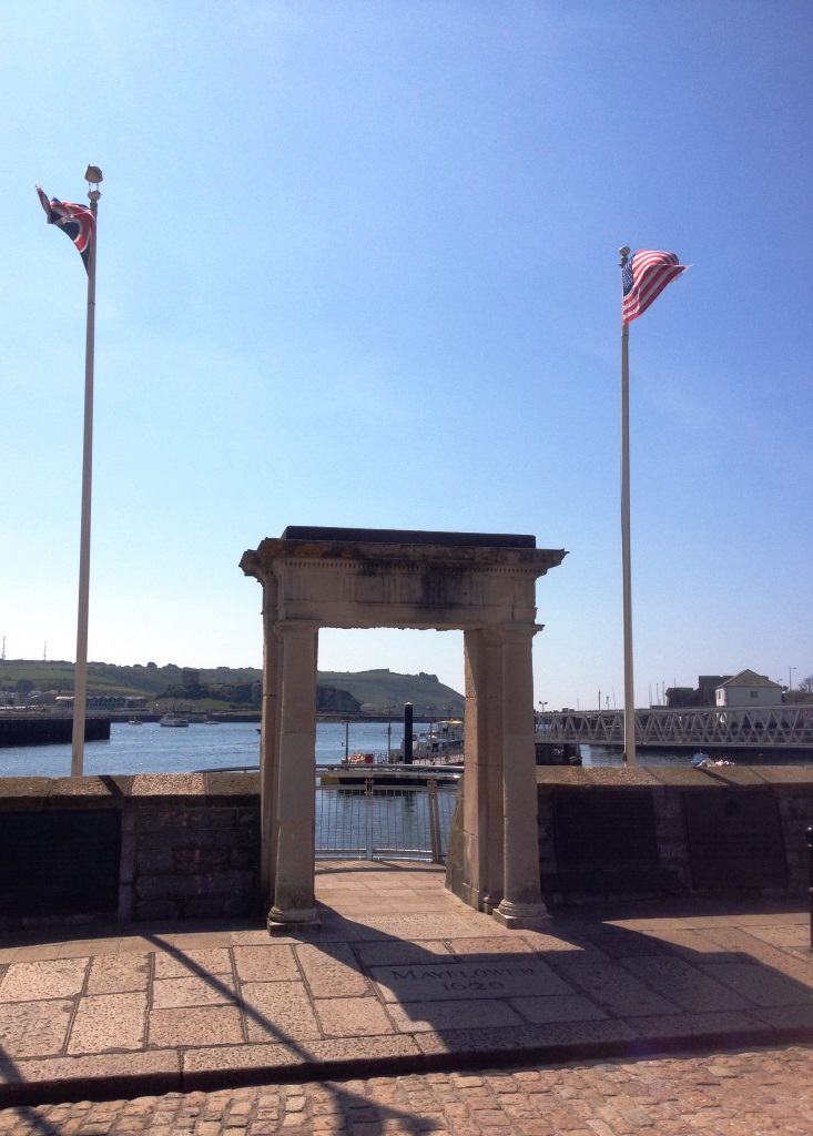 The Mayflower Steps (Image provided by Stewart Mandy)