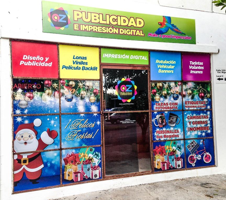 AZ Publicidad in Colonia Miguel Alemán (Photo: AZ Publicidad)