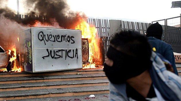 Chilpancingo, Guerrero, Saturday November 8th, 2014 (Photo: noticiaaldia.com)