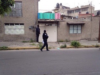 House In Iztapalapa where Abarca was arrested