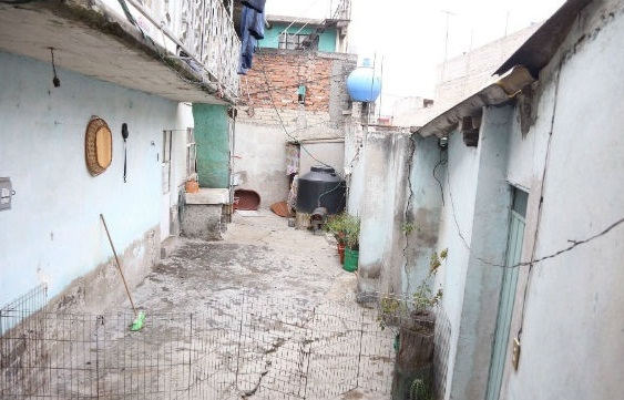 House In Iztapalapa where Abarca and Wife were arrested (Photo: Alto Nivel)