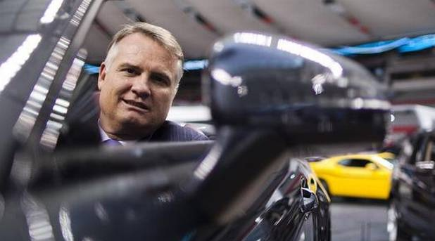 Mercedes-Benz Canada's Tim Reuss has been pushing for Canada to let companies sell cars that meet European standards.
