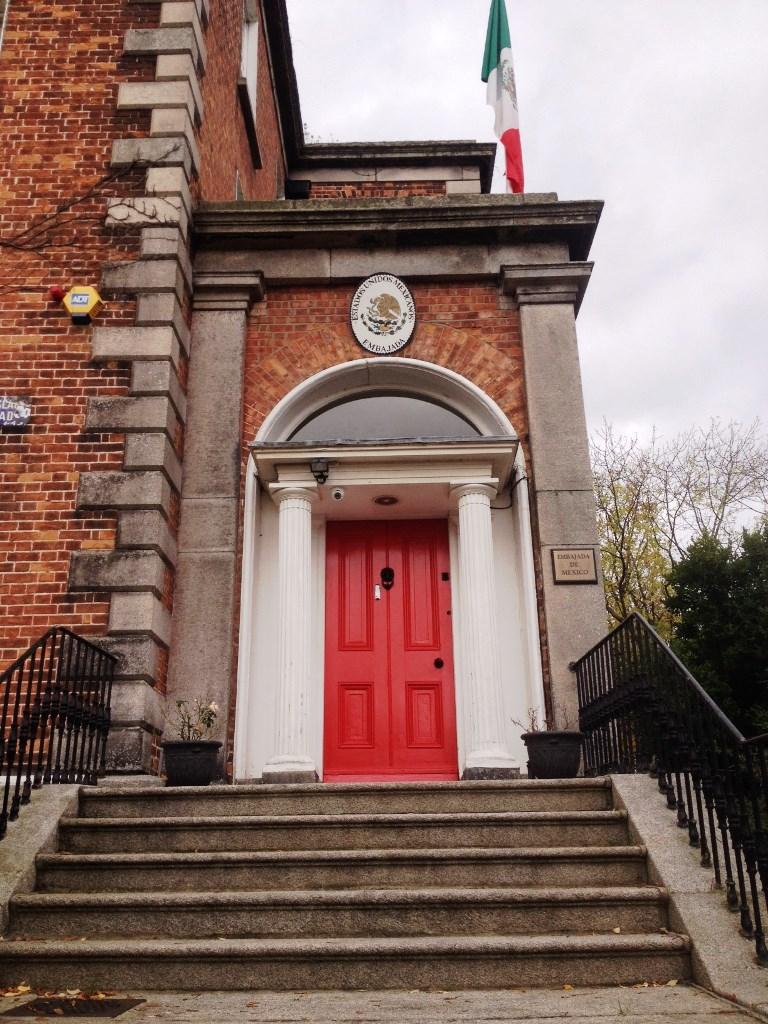Mexican Embassy Dublin (credit Stewart Mandy)