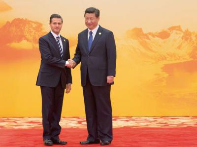 Peña and Xi create a working group to share projects