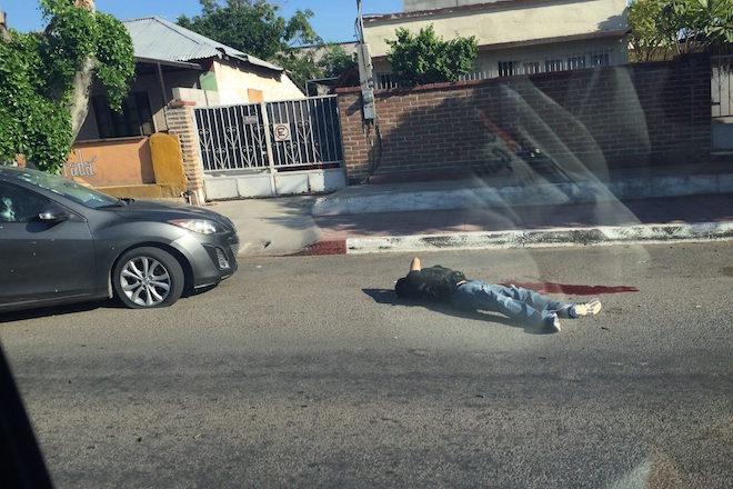 Dead body found in La Paz, November 23rd (Photo: bcsnoticias)