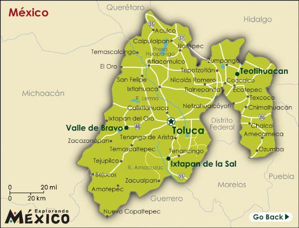 Estado de México (Image: www.explorandomexico.com)