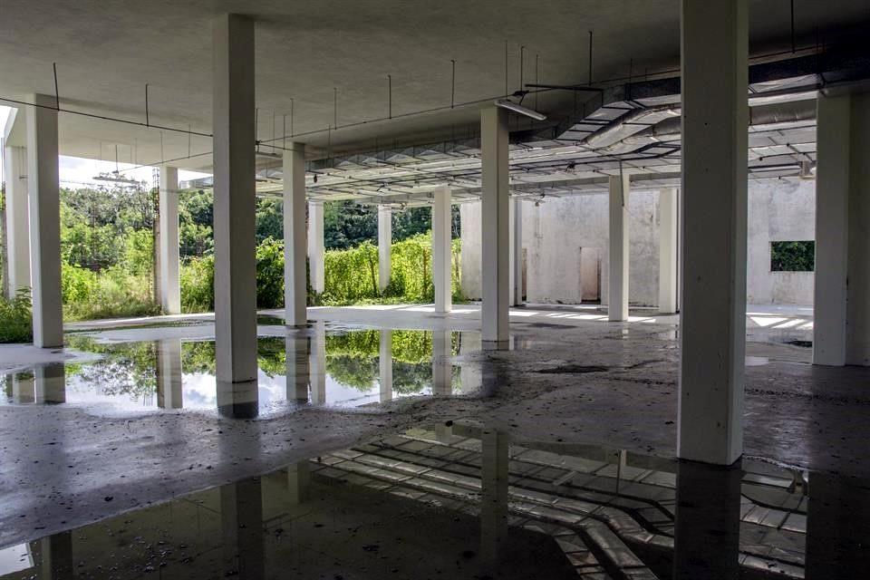 """""""Mayan Palace"""" Totally abandoned (Photo: El Norte)"""