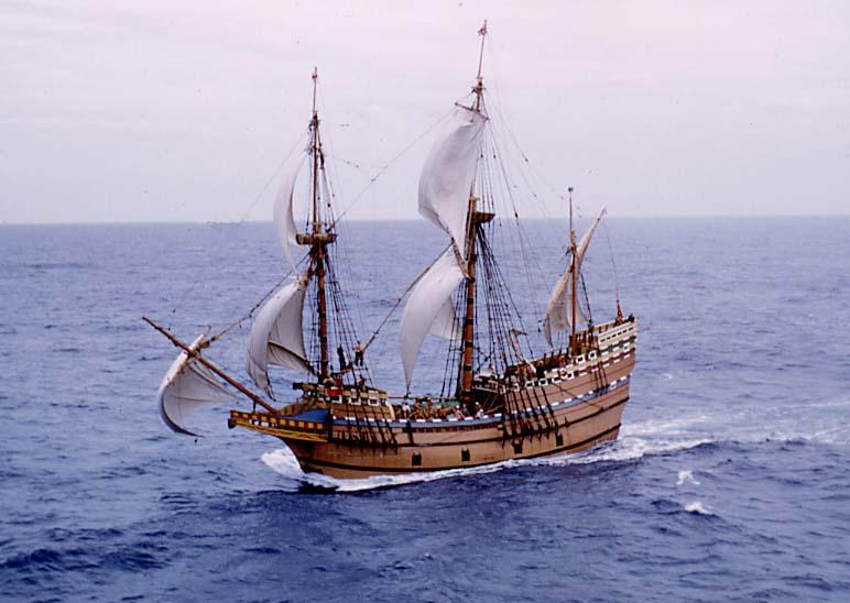 Mayflower II (Image provided by Stewart Mandy)