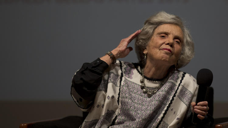 Mexican writer Elena Poniatowska (Photo: Google)