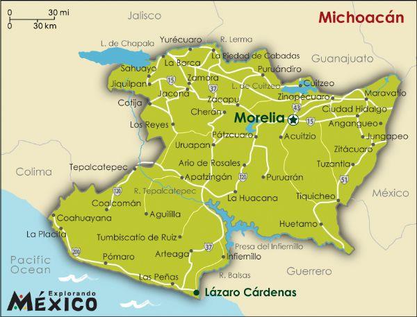 Michoacan (Image: www.explorandomexico.com)